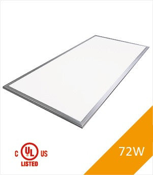 LED Panel Light, 2'x4', 72W, UL&DLC, NonDimmable, 4000K , LED PANEL - LED Lighthouse, A19LED.COM  - 1