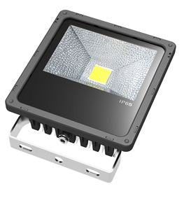 50W Outdoor LED Flood Light, Slim, 4300 Lumens, 4500K - LED Lighthouse Inc Webstores, ALLBulb & A19LED