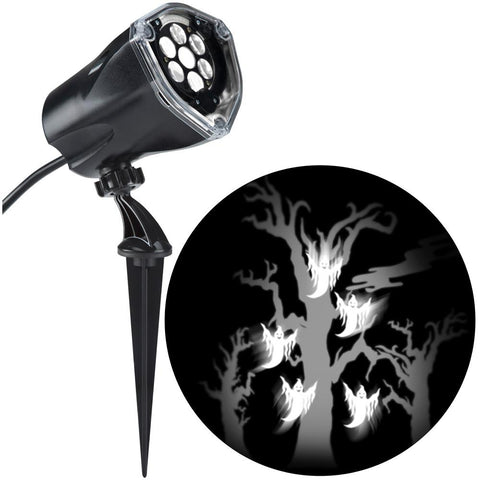 LightShow, LED Projection Plus Whirl-a-Motion Plus Static Ghost with Tree
