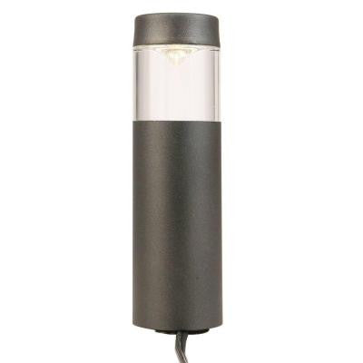 Hampton Bay, Low-Voltage LED Black Outdoor Round Bollard Path Light , OUTDOOR LIGHTING - Hampton Bay, A19LED.COM