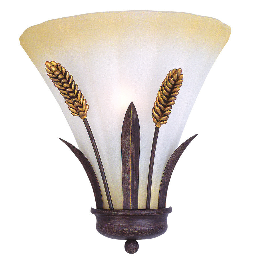 Portfolio 9-in W 1-Light Antique Bronze Pocket Hardwired Wall Sconce , INDOOR LIGHTING FIXTURES - Portfolio, A19LED.COM