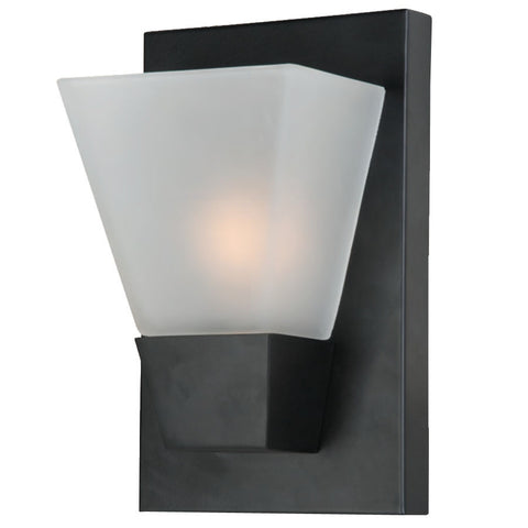 Portfolio 5.52-in W 1-Light Matte Black Pocket Hardwired Wall Sconce , INDOOR LIGHTING FIXTURES - Portfolio, A19LED.COM
