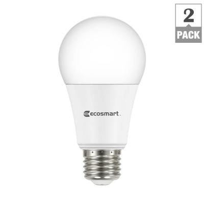 100W Equivalent Daylight A21 Dimmable LED Light Bulb (2-Pack) , BULB-LED - Ecosmart, A19LED.COM