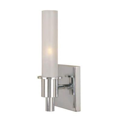 Dunwoody 1-Light Chrome Wall Sconce - LED Lighthouse Inc Webstores, ALLBulb & A19LED
