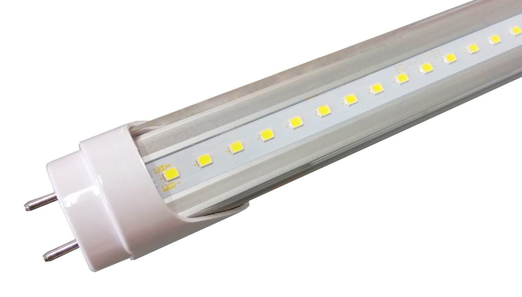 LED Tube, Ballast Compatible & AC Direct, UL& DLC, Drop-In Replaces (T8) 32W Fluorescent, 4000K, Clear , LED TUBE - LED Lighthouse, A19LED.COM  - 1