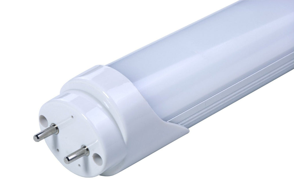 LED Tube, Ballast Compatible & AC Direct, UL, Drop-In Replaces (T8) 32W Fluorescent, 6000K, Diffused , LED TUBE - LED Lighthouse, A19LED.COM  - 1