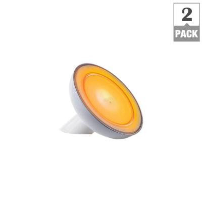 Philips, Friends of Hue 40W Equivalent Adjustable Color Connected LED Bloom Lamp White Starter Kit with hue Bridge (2-Pack) , WI-FI BULB - Philips, A19LED.COM