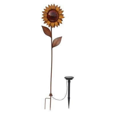 Trendscapes, Bronze Solar LED Sunflower , SOLAR LIGHTS - Trendscapes, A19LED.COM