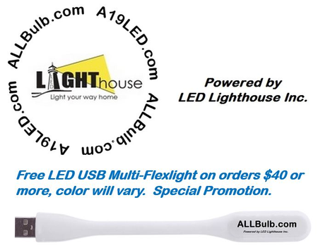 LED Lighthouse Inc Webstores, ALLBulb & A19LED