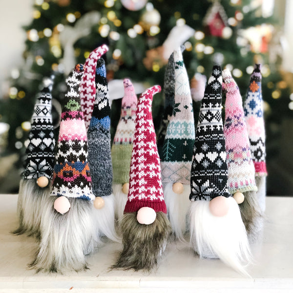 DIY Norwegian Holiday Gnomes