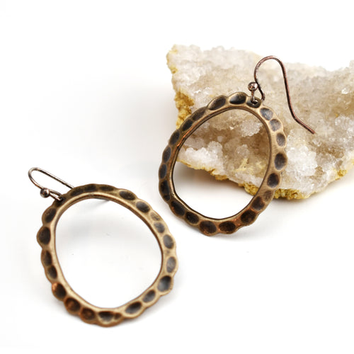 Juni Earrings, Earrings, Unmarked Industries - unX Industries - artisan jewelry made in U.S.A