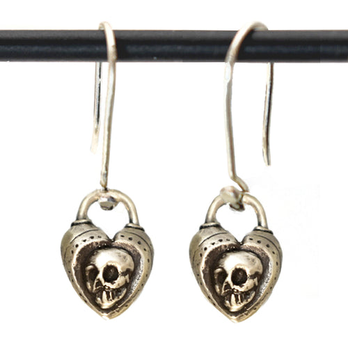 Memento Mori Earring, Earrings, Unmarked Industries - unX Industries - artisan jewelry made in U.S.A