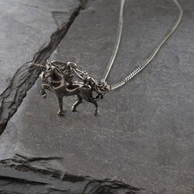 Vintage Unicorn Necklace, Necklace, Unmarked Industries - unX Industries - artisan jewelry made in U.S.A