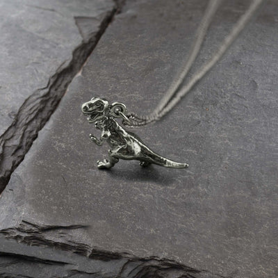 Vintage T-Rex Necklace, Necklace, Unmarked Industries - unX Industries - artisan jewelry made in U.S.A
