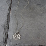 Gemini Zodiac Necklace, Necklace, Unmarked Industries - unX Industries - artisan jewelry made in U.S.A