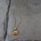 Capricorn Zodiac Necklace, Necklace, Unmarked Industries - unX Industries - artisan jewelry made in U.S.A