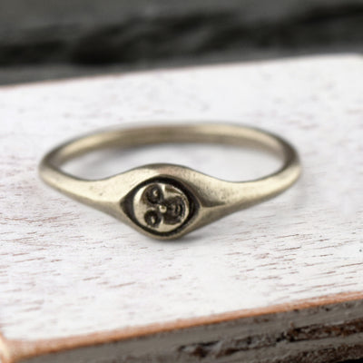 Muse Ring Silver, Ring, Unmarked Industries - unX Industries - artisan jewelry made in U.S.A