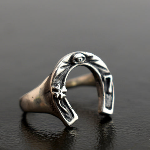 Lucky Totem Ring, Ring, Unmarked Industries - unX Industries - artisan jewelry made in U.S.A
