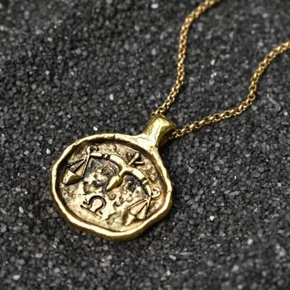 Libra Zodiac Necklace, Necklace, Unmarked Industries - unX Industries - artisan jewelry made in U.S.A