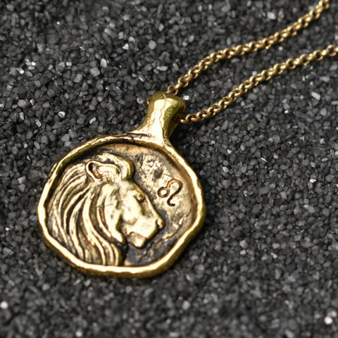 Leo Zodiac Necklace, Necklace, Unmarked Industries - unX Industries - artisan jewelry made in U.S.A