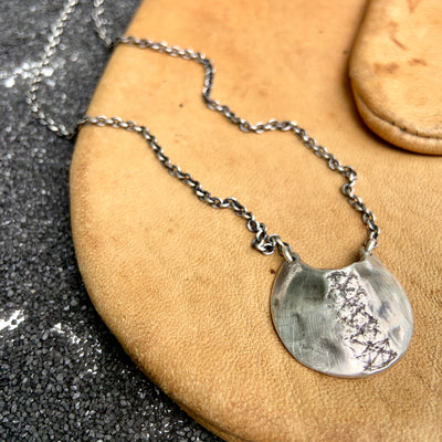 Pocket Necklace, Necklace, Unmarked Industries - unX Industries - artisan jewelry made in U.S.A