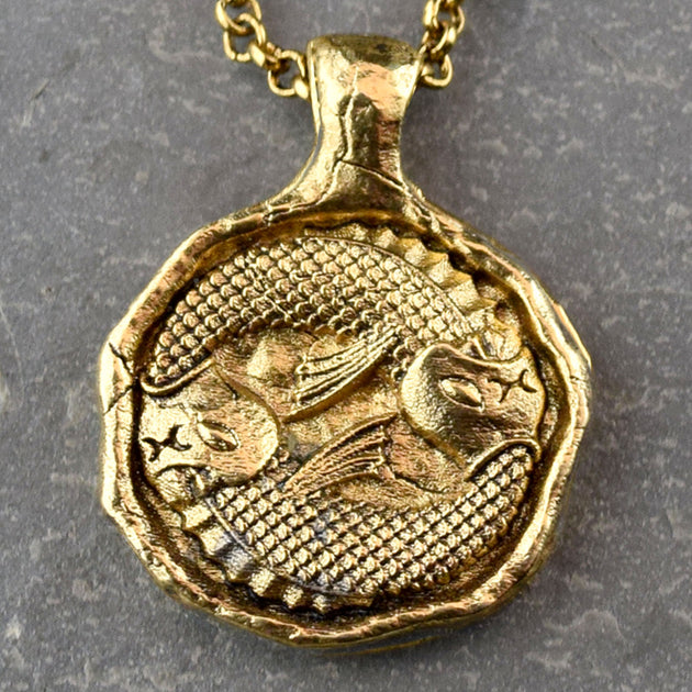 Pisces - Zodiac Necklace, Necklace, Unmarked Industries - unX Industries - artisan jewelry made in U.S.A