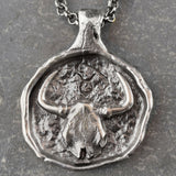 Taurus - Zodiac Necklace, Necklace, Unmarked Industries - unX Industries - artisan jewelry made in U.S.A