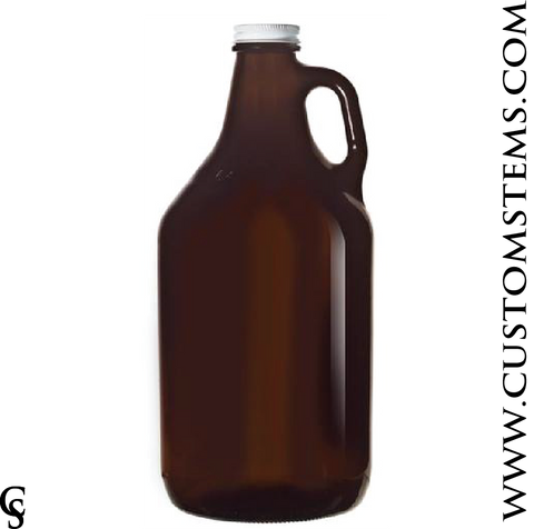 Amber Growler, 64oz