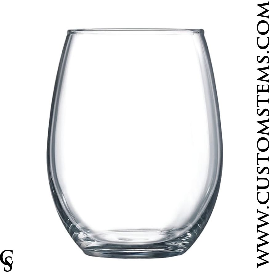 15oz Stemless Tasting Glass