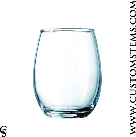 5.5oz Stemless Tasting Glass