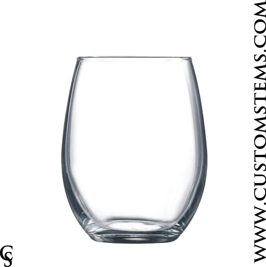 9oz Stemless Tasting Glass
