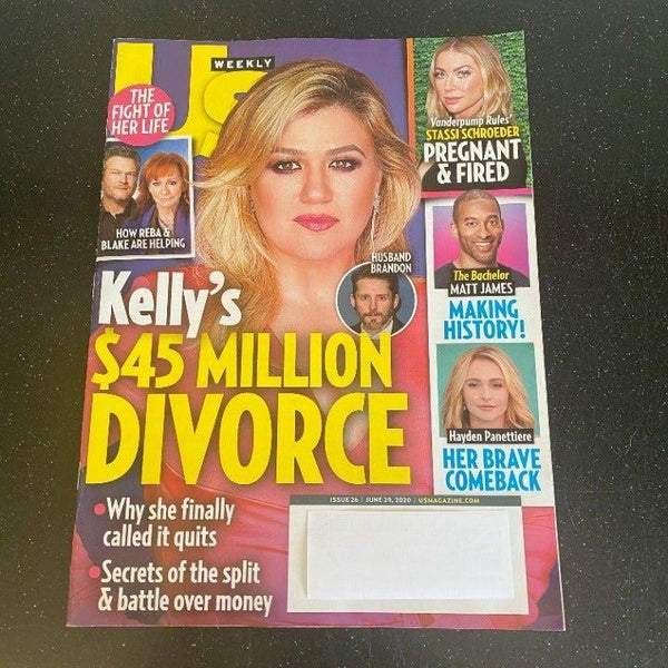 Us Weekly June 29 2020 Kelly Clarkson magazine