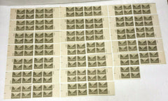 Scott #934 Lot of 34 US Plate Blocks U.S. Army 1945 3c Unused Stamps