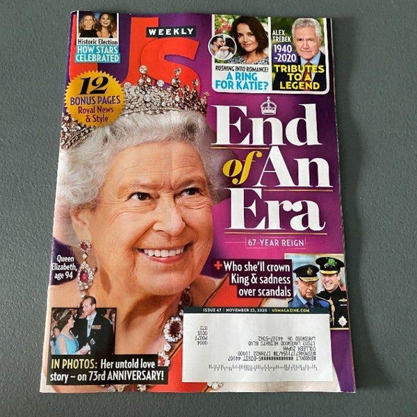 Us Weekly magazine Nov 23 2020 Queen
