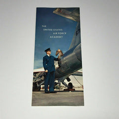 1967 Air Force Academy Brochure Vintage USAF United States Colorado