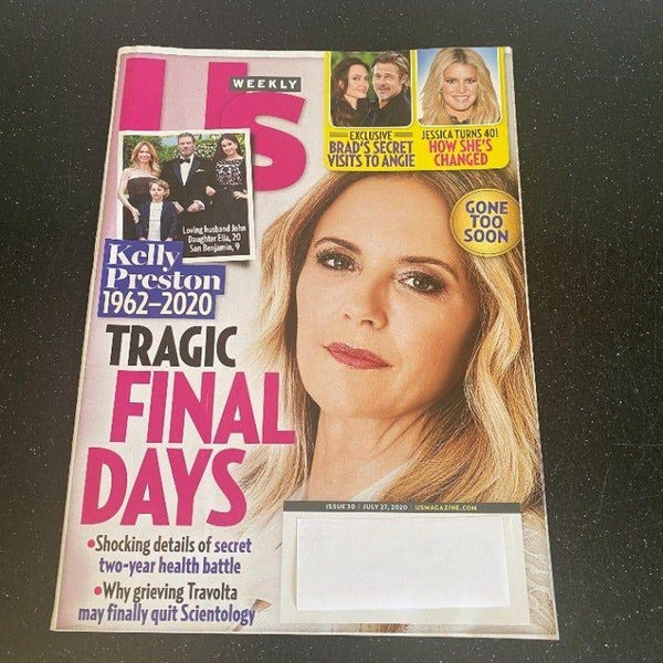 Us Weekly July 27 2020 Kelly Preston magazine