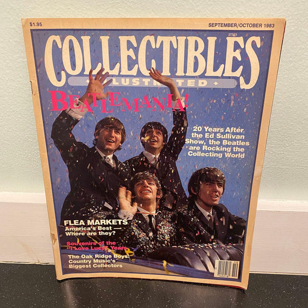 Collectibles Illustrated September October 1983 The Beatles magazine