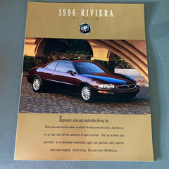 Buick Riviera 1996 Car Sales Brochure