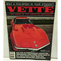 Vette Magazine April May 1981 Corvette Stingray Twin-Turbo Big Block Cafe Racer