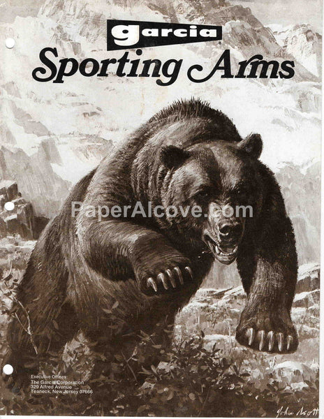 Garcia Sporting Arms 1976 vintage original old rifles and shotguns hunting catalog