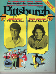Pittsburgh magazine December 1976 Louis Scheimer Pierre Larouche