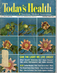 Today's Health March 1963 vintage magazine AMA American Medical Association