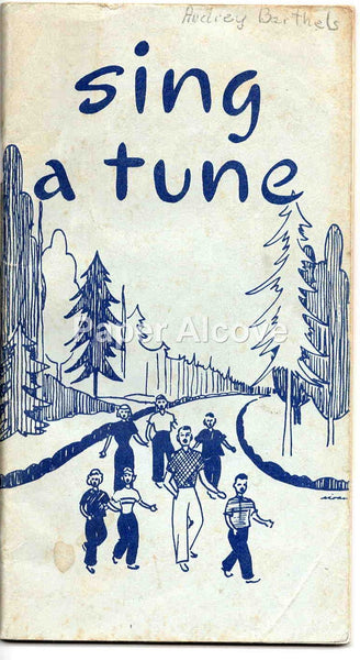 Sing a Tune 1966 vintage children's song book music ID'd Audrey Barthels
