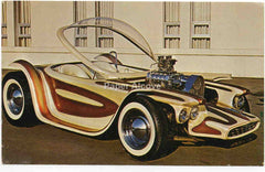 Beatnik Bandit Ed Roth Postcard Revell Model Advertising Oldsmobile Hotrod