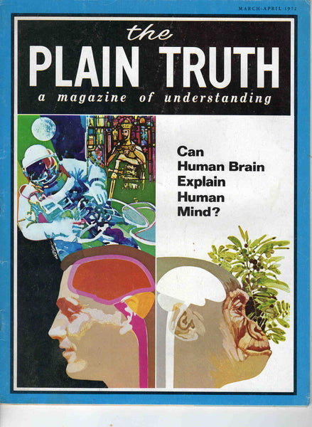 Plain Truth magazine March April 1972 Christian Ambassador College Marijuana Myths