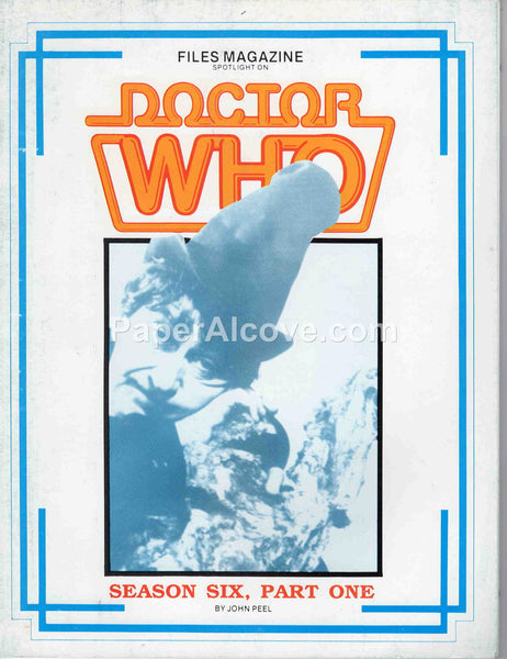 Files Magazine Spotlight on Doctor Who Season Six Part One John Peel 1986
