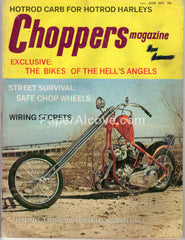 Choppers Magazine June 1973 old vintage magazine custom motorcycles Hotrod Harleys Hell's Angels