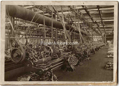 LeBlond Heavy Duty Lathe undated vintage original old photo factory interior machinist