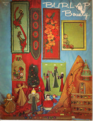 Burlap Bounty 1967 Hazel Pearson Handicraft HP-137 Craft Booklet