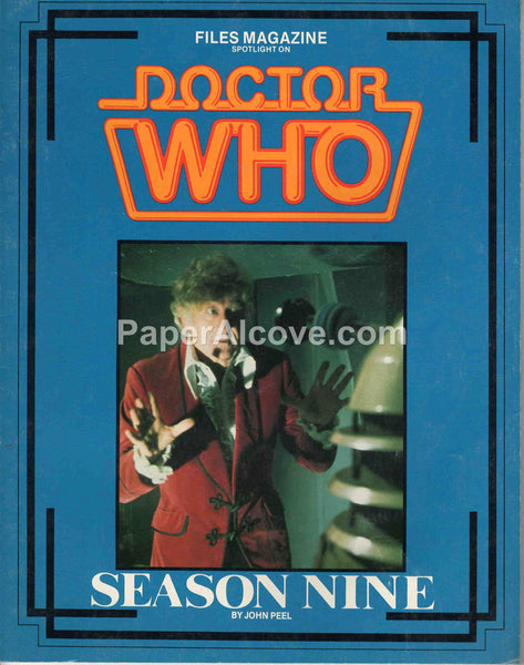 Files Magazine Spotlight on Doctor Who Season Nine John Peel 1986